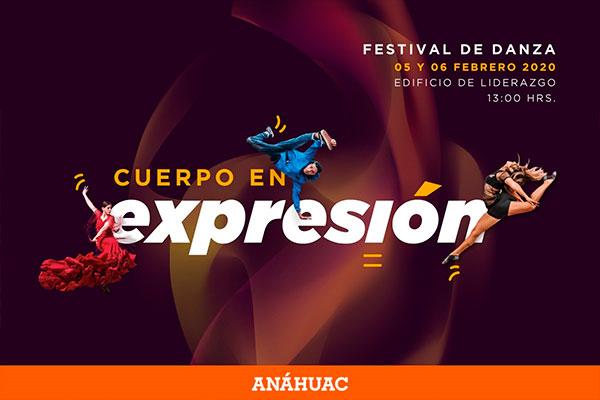 PRESENTACIÓN EN FESTIVAL DE DANZA DE LA ANÁHUAC 2020