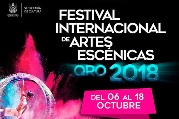 PARTICIPACIÓN DE CENTRO PROART EN EL FESTIVAL INTERNACIONAL DE ARTES ESCÉNICAS EN QUERÉTARO 2018
